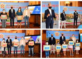 Entregados los premios de los concursos de las Fiestas Patronales online de La Orotava