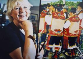 La pintora Enie Karlsson mostrará su nueva colección en la Casa de la Cultura de San Agustín de La Orotava