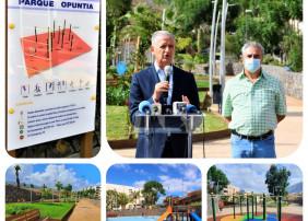 El recinto, en la zona de Opuntia, ha supuesto una inversión global de un millón de euros