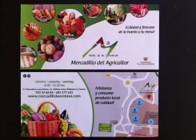 El Mercadillo Valle de La Orotava edita un nuevo díptico informativo