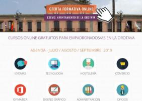El aula formativa online registra más de 800 matriculaciones en el primer semestre de 2019