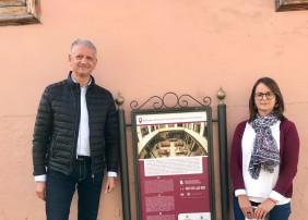 Paneles turísticos con completa información sobre los espacios más emblemáticos de La Orotava