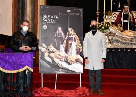 La imagen que anuncia la Cuaresma villera, que este año no celebrará procesiones, es la del Cristo Yacente de la Hermandad del Santo Entierro