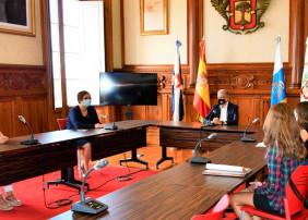 reunión de trabajo con la Asociación de Ostomizados de Tenerife (AOTEN