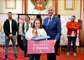 El Ayuntamiento acoge la entrega de premios de los concursos de navidad