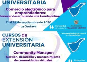 LA ULL OFRECERÁ EN LA OROTAVA UN CURSO DE COMERCIO ELECTRÓNICO Y OTRO DE COMMUNITY MANAGER